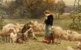 Le berger et la bergère, Luigi Chialiva