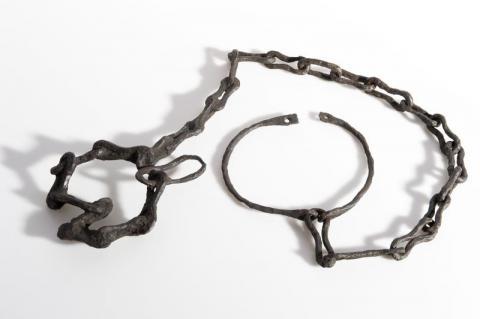 Carcan d'esclave, Lacoste