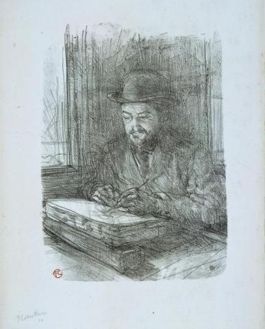 Henri de Toulouse-Lautrec (1864-1901), perteneciente al ayuntamiento de Burdeos, foto de B. Fontanel.