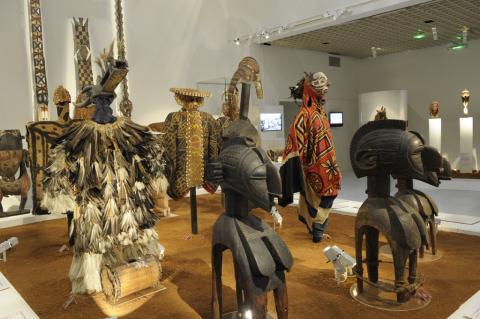 collections extra-européennes du musée d'Aquitaine, photo Lysiane Gauthier, mairie de Bordeaux