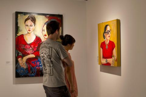 """Vue de l'exposition """"Chicano Dream"""" - musée d'Aquitaine - photo Lysiane Gauthier - mairie de Bordeaux"""