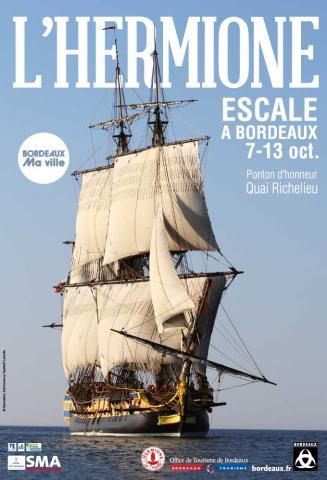 Escale de l'Hermione à Bordeaux - conférence au musée d'Aquitaine