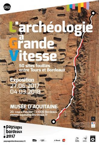 Vue aérienne du site les Sablons, Luxé, Charente, ©photo Thierry Duquenoix Archéosphère. Mairie de Bordeaux/Direction de la communication