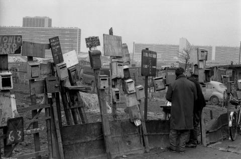 Les boîtes à lettres (c) Gerald Bloncourt