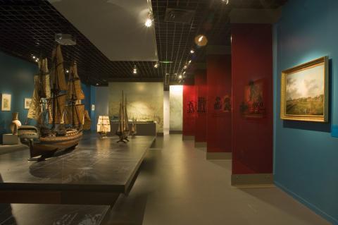 Vue des salles XVIIIème, photo Lysiane Gauthier