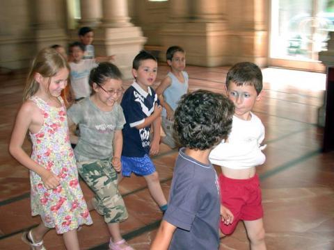 Activités pendant les vacances. musée d'Aquitaine. photo mairie de bordeaux
