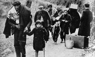 L'exode des républicains espagnols à travers les Pyrénées. Photo Dépêche du Midi, Cathy Montaut
