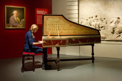 Musée en musique, photographie de F. Deval