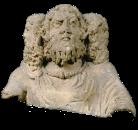 Dieu tricéphale de Condat dit Cernunnos. Photo mairie de Bordeaux