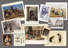 Collage de imágenes de la colección Goupil. Ayuntamiento de Burdeos B. Tarrats