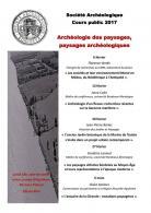 Programme de la Société Archéologique de Bordeaux