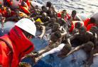 Les migrants ne savent pas nager © P. Bar